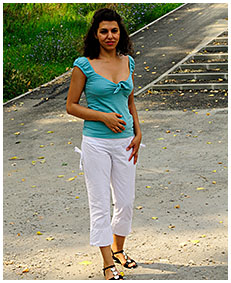 she wets her white pants desperate accident stalker running scared 04