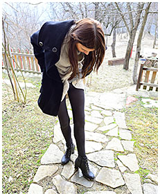 girl pisses herself in pantyhose 00