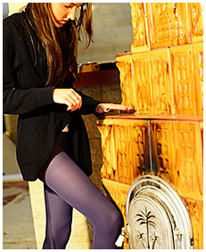 purple pantyhose dreched beatrice 00