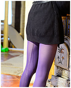purple pantyhose dreched beatrice 04