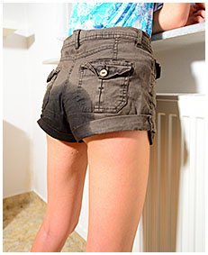 brown shorts wetting beatrice 04