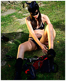 wet panties cat woman 05
