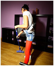 housewife erica finds good oportunity to piss herself mopping the floor 00