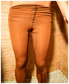 overalls pantyhose piss with erica 01