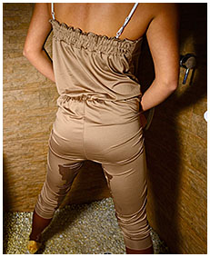 overalls pantyhose piss with erica 03