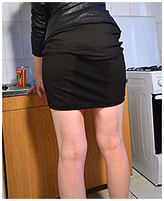 red panties black skirt with ruby 02