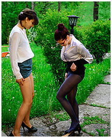natalie and ruby wetting their skirts and pantyhose accident wetting deliberately 03