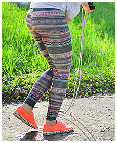 jump rope wetting tights 01