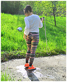 jump rope wetting tights 05