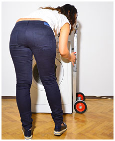 girl wetting jeans pissing herself 03