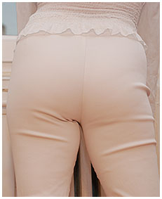 vintage laura wets white pants for you 01
