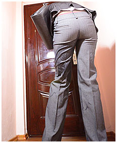 antonia wets business pants and pantyhose pissing herself business suit 58