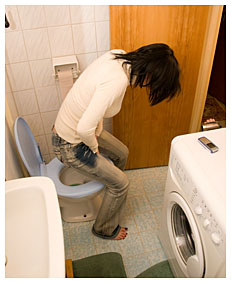 alice got too late to the toilet she filled her jeans with piss 7920