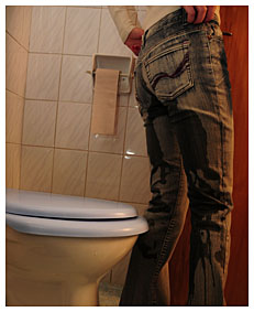 alice got too late to the toilet she filled her jeans with piss 7973