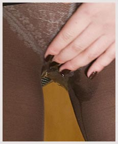 alice pissing brown  pantyhose nylons 082