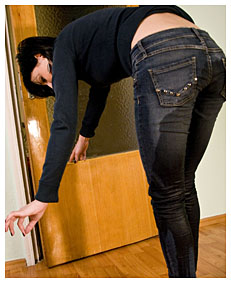 alice wetting jeans when she got home 018