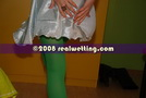 coloured nylons piss