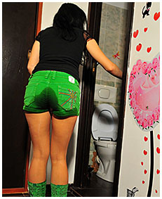 antonia pissed her shots and pantyhose occupied toilet female desperation 00