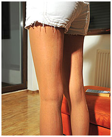 challenging philosofical beliefs in a book natalie wets her jeans shorts and pantyhose on purpose 01