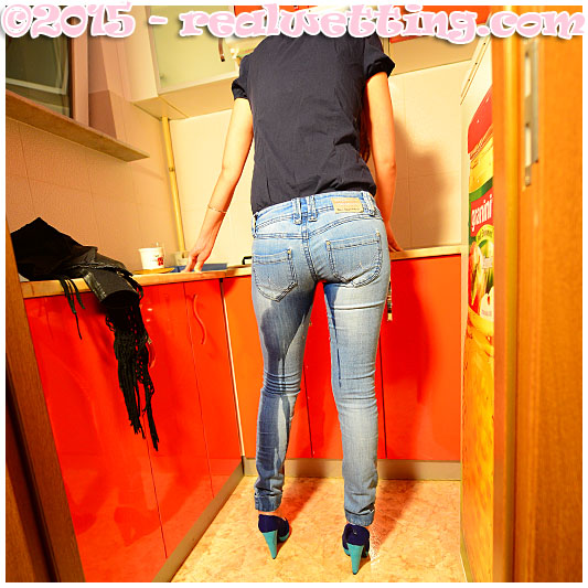pissing jeans accident debbie tries to put the kettle on but pisses herself 01