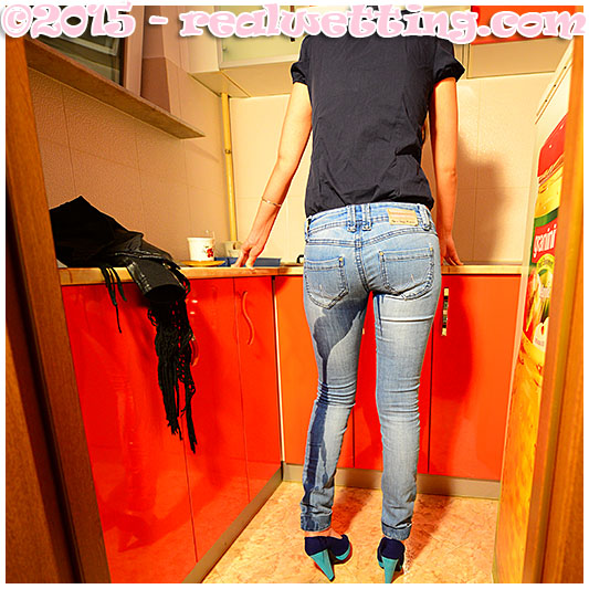 pissing jeans accident debbie tries to put the kettle on but pisses herself 03