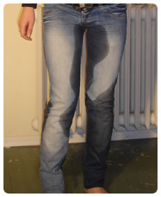 her jeans filled with piss while she was wetting herself pee piss stories video
