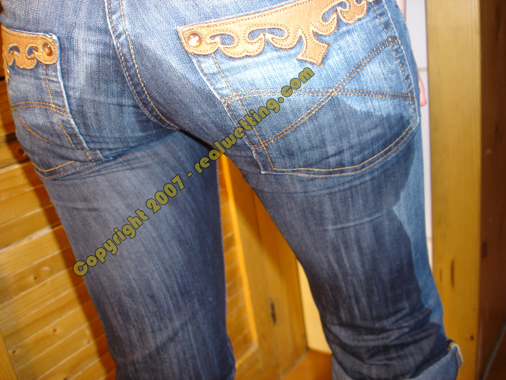 Jeans wetting accidental urination