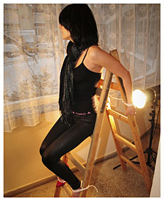 kidnapped and bound alice pees her vyscose tight pants 7618