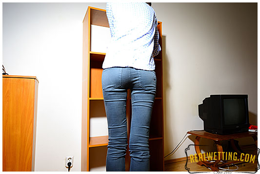Jeans wetting Natalie