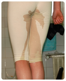 poor girl wetting herself piss pee urination accidental piss incontinence